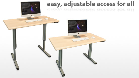 motorized-adjustable-height-table