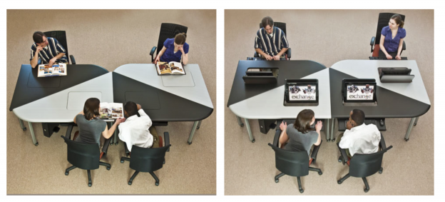 Classroom Design fosters Collaborative Learning